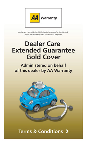 AA Warranty Gold - Dealer Care Extended Guarantee